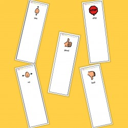 Basic Symbol Fan - Boardmaker / Autism / ADHD / ASD / PECS