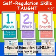 Self-Regulation Skills TAUGHT   MOVE~WORK~BREATH