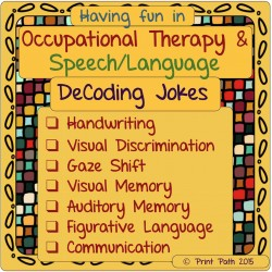 DeCoding Jokes: Perception, Executive Function, Figurative Language