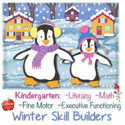 Integrated: Fine-Motor, Literacy, Math, Executive Function: Winter Skill Builder