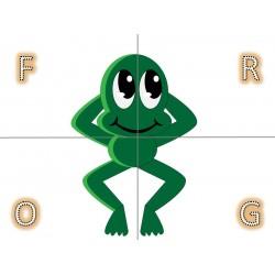 Four Letters Puzzles