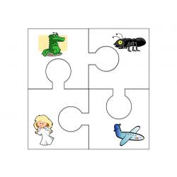 Jigsaw Puzzles- alphabet