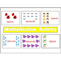 Multiplication Activities for Kids