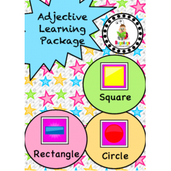 Adjective Workbook - Shape (Square, Rectangular and Round)