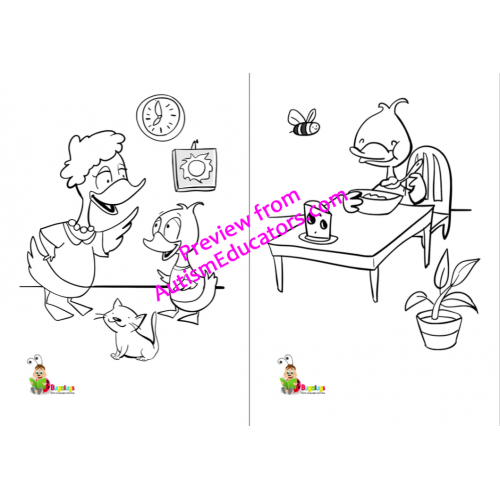 vocabulary building colouring    coloring book