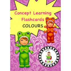 Adjective Flashcards - Colours / Colors