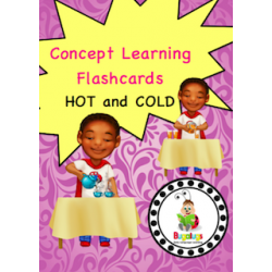 Adjective Flashcards - Hot and Cold