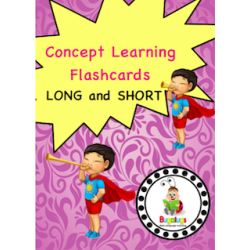 Adjective Flashcards - Long and Short