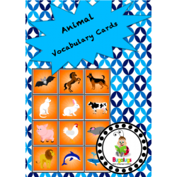 Vocabulary Cards - Animals