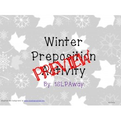 Winter Preposition