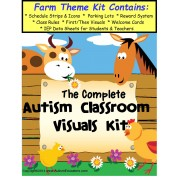 The Complete Autism Classroom Visuals Kit - FARM THEME