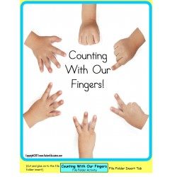 Counting With Fingers Up To 10 for Autism/Special Education/Pre-K/Kindergarten