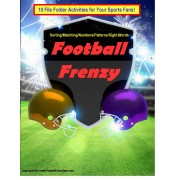 File Folder Games FOOTBALL (Set of 10)
