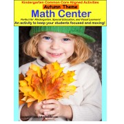 Autism AUTUMN MATH CENTER -Stand Up and Learn!