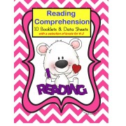 Autism Reading Comprehension Booklets and Data Sheets