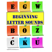 File Folder Activity Beginning Letter Sounds {Initial Sound}