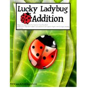 Autism File Folder Addition up to 10 Ladybug Counting