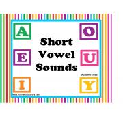 Short Vowel Sounds    FREE!