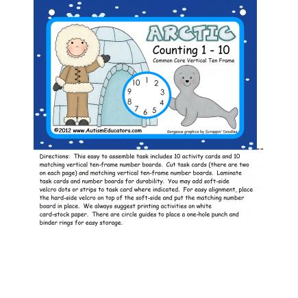 Common Core Eskimo Counting 1- 10