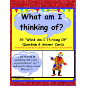 Riddle Question Cards Picture Answers Activity {Kindergarten/First Grade/Autism}