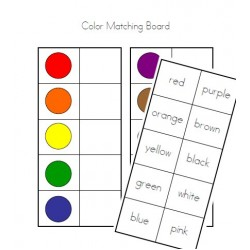 Color Matching Board