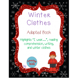 Winter Clothes – Adapted Book