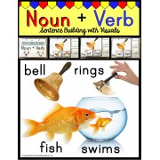 Nouns and Verbs – Building Sentences with Pictures
