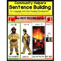 COMMUNITY HELPERS Visual Sentence Building for Autism and Special Education