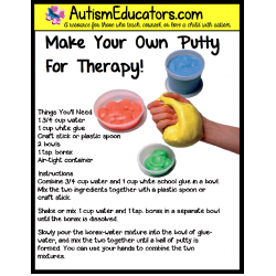 Make Your Own Theraputty Recipe