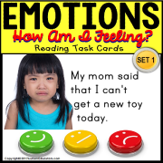 "EMOTIONS Happy or Sad TASK CARDS ""Task Box Filler"" for Autism and Special Needs"