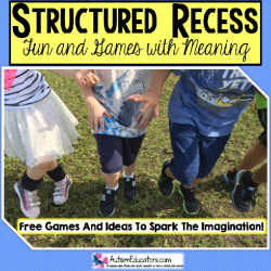 FREE Game for Structured Recess