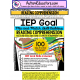 READING COMPREHENSION IEP Skill Builder FOLLOWING VISUAL DIRECTIONS WORKSHEETS