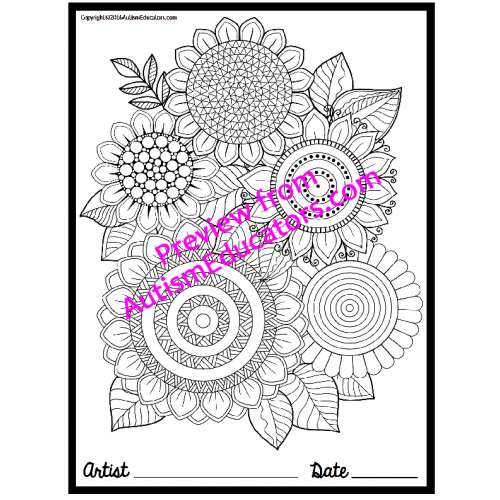 Occupational Therapy COLORING PRINTABLES