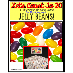 Count To 20 JELLY BEANS - Intro To Addition for Autism