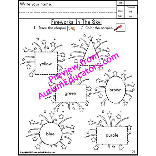 fine motor skills no prep worksheets for summer june july august esy. Black Bedroom Furniture Sets. Home Design Ideas