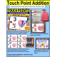 TOUCH POINT Addition To 18 TASK CARDS Valentine's Day Theme TASK BOX FILLER for Autism