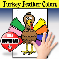Turkey Feather Colors Activity