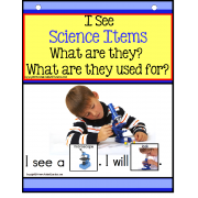Autism - Build A Sentence with Pictures Interactive -SCIENCE ITEMS