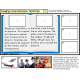 NONFICTION Reading Comprehension LARGE Task Cards for Autism and Special Education with DATA