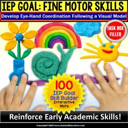 Fine Motor Skills Activities | Occupational Therapy Task Box Filler | SET 1