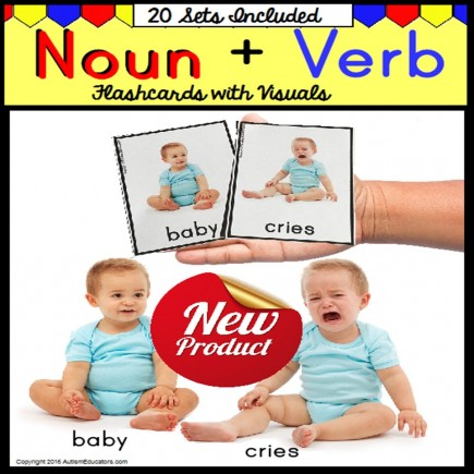 Nouns and Verbs Flashcards