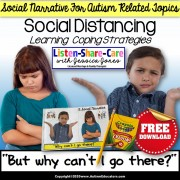 Social Story About Social Distancing for Autism