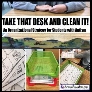 Organizational Strategies for Students with Autism