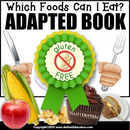 Adapted Book: WHICH FOODS CAN I EAT (Gluten Free) – Special Education Resource