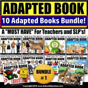 Adapted Books: Reading Resource for Special Education BUNDLE ONE (Variety)