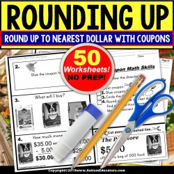 Rounding Up To Nearest Dollar WORKSHEETS