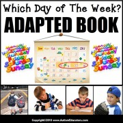 Adapted Book: WHICH DAY OF THE WEEK – Special Education Resource for Reading