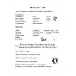 Choosing Good Friends-Social Tale