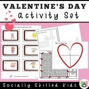 Valentine's Day Activities Set