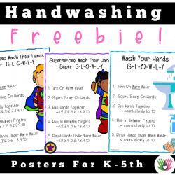 Handwashing Posters || Visuals